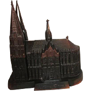 Bronzed Kolner Dom Cologne Cathedral Jewelry Casket Box