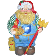 Country Farmer Santa Claus