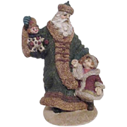 Father Christmas with Young Child