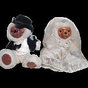Bride and Groom Stuffed Raikes Bears