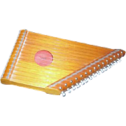 Small 15 string Lap Harp or Zither
