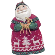 Hallmark Christmas Keepsake Ornament Santa from Norway