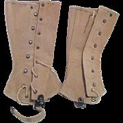 Pair of WWI Canvas Leggings