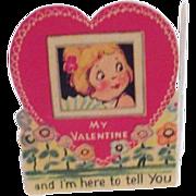 Vintage Valentine Stand-up