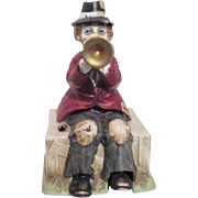 Melody in Motion Hobo Clown with Trumpet