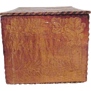 Square Wooden Box for Handkerchiefs