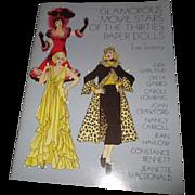 Glamorous Movie Stars of the Thirties Paper Dolls