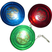Set of three Duncan Imperial Yo-yos