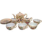 Toy Tea Set Lustreware Made in Japan (Luster ware)