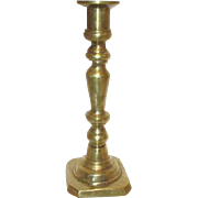 "8"" High Brass Candlestick"