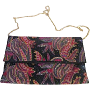 Multi-Colored Beaded Purse/Clutch