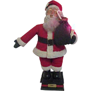 "26"" High Santa  Holding Light Holiday Creations China"