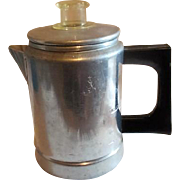 Comet 2 Cup Aluminum Coffee Pot