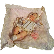 Baby Lisa Doll on Pillow by by Astri