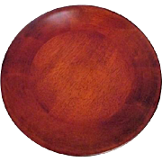 Polished Shallow Wood Bowl