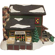 Dept 56 Ceramic Snow Village Rock Creek Mill House Original Box