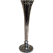 Princess House Silver Plated Bud Vase