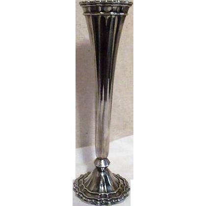 Princess House Silver Plated Bud Vase From Somethingwonderful On Ruby Lane