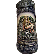 Loreley/Lorelei Beer Stein from Germany