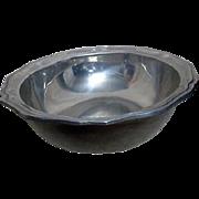 Heavy Wilton Columbia PA Pewter Bowl