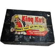 King Kut Hobby Tool Set #120