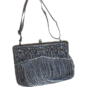 Heavily Beaded Purse Shoulder Bag by The Find
