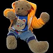 "24"" Stuffed Bear in Boys' Clothes"