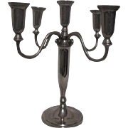 Godinger Metal 5 Candle Holder