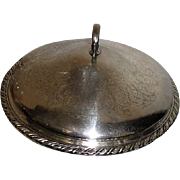 Oneida Silver Plated Round Lidded Entree Server