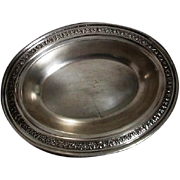 Silver Plated  Oval Serving Dish by F.B. Rogers