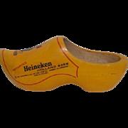 Dutch Wooden Shoe Advertising Heineken Holland Beer