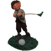 Annalee Soft Sculpture Irish Golfer