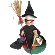 Annalee Doll Halloween Trick or Treat Witch