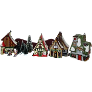 '96 Dept 56  North Pole Series #A/starter set plus 2 buildings