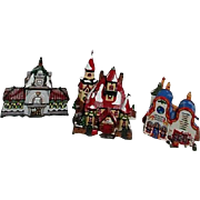 '96 Dept 56 North Pole Series #B/3 buildings