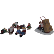 '98 Dept 56 Heritage Village Collection North Pole Series Accessories