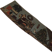 Christmas Tapestry Table Runner