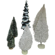 Dept 56 Set of 7 Christmas Trees Accessories