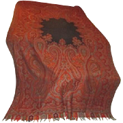 Baby Grand Piano Paisley Shawl Throw