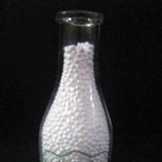 Vintage Quart Milk Bottle Bob Vetter Dairies, NY