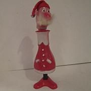 Vintage Plastic Santa
