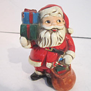 Vintage Hand-Painted Santa Bank by Ardco
