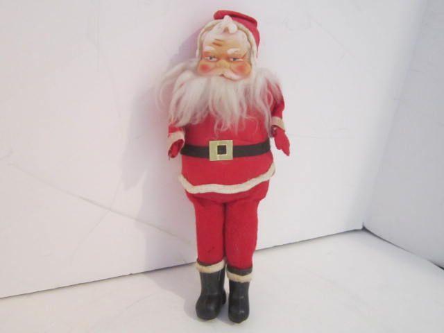 Vintage Santa Doll 10