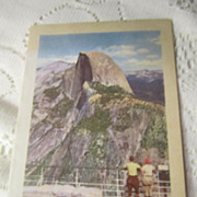 Vintage Dinner Menu August 2, 1943 Camp Curry Yosemite National Park
