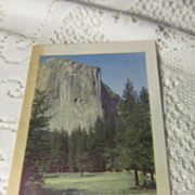 Vintage Luncheon Menu for Camp Curry Yosemite National Park Aug 5, 1943
