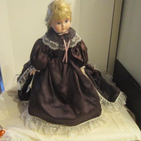 "Vintage Hand-crafted Doll ""Antoinette"" by Cal Hasco Inc"