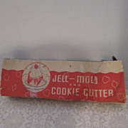 Vintage Jell-Mold and Cookie Cutter Set (4) in Original Box
