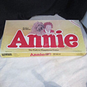 Vintage Parker Brothers (Orphan) Annie Board Game