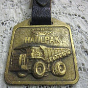 Vintage Watch Fob with WABCO HAULPAK