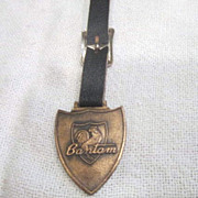 Vintage Watch Fob Bantam